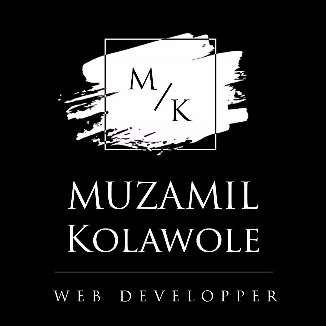 Muzamil Kolawole - Web Developper