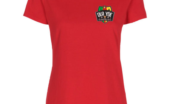 DLA vs YDE mwomen fitted t-shirt